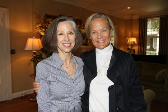 Susan Edwards and Daphne Butler attend the Frist Gala kickoff party.