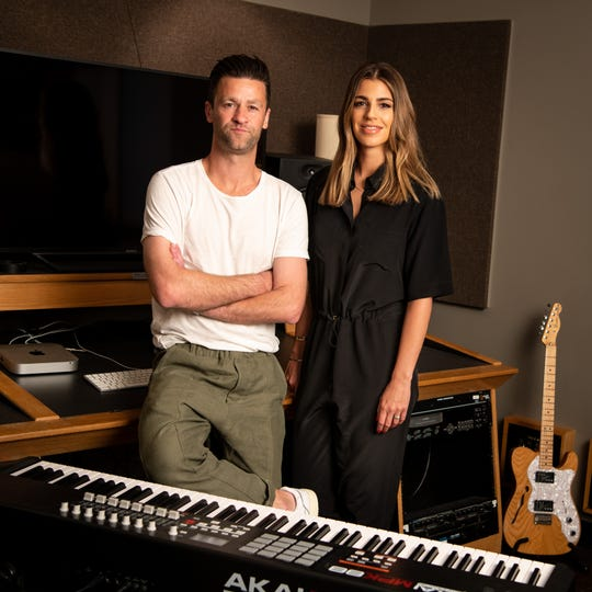 Ben Fielding and Brooke Ligertwood of Hillsong Worship shared about what writing songs for the church means to them.