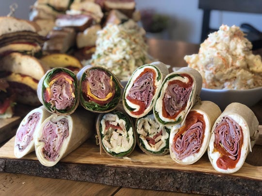 Have a big party coming up? Assorted wraps, sandwiches and salads from Uncle Giuseppe's Marketplace are always a hit.