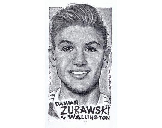 Damian Zurawski, Wallington soccer