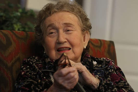 At Brightview Senior Living in Randolph 92 year old Holocaust survivor Kate Bernath tells of her time in Nazi concentration camps during World War II.