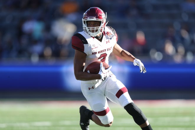 Former New Mexico State running back Larry Rose III was selected in the XFL Draft.