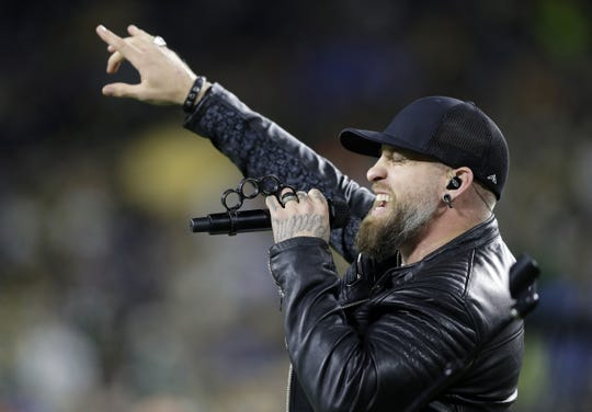 Brantley Gilbert will headline the first arena show in Milwaukee in 2020, Feb. 8 at Fiserv Forum.