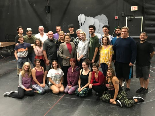"College of the Desert students will perform ""The Addams Family"" at the McCallum Theatre Oct. 24-26, 2019."