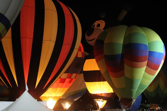 During the Spooktacular Hot Air Balloon Festival, children will have the chance to trick-or-treat at hot air balloon stations.