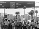 1981 — People participate in the Professional Air Traffic Controllers Organization Strike at Phoenix Sky Harbor International Airport in August.