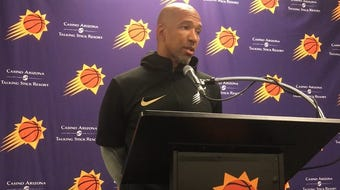 Monty Williams talks about how he hopes the Phoenix Suns react when facing adversity this season.