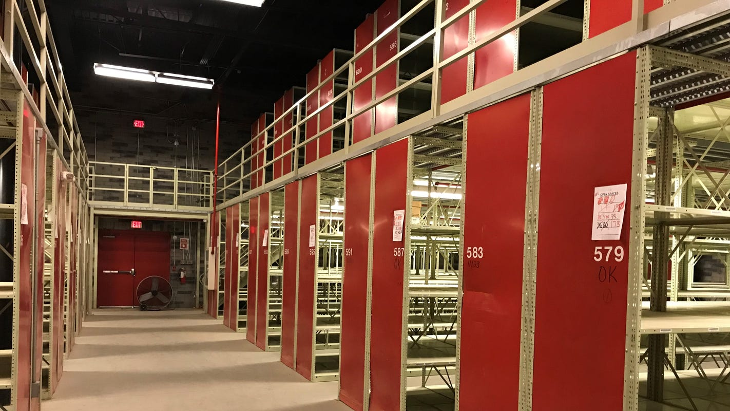 Canceling expensive contract for storing state records would cost $2 million