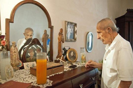 Héctor Soza, de 90 años, es descendiente de una de las familias fundadoras de la ciudad de Tucson.