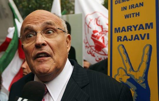 Rudy Giuliani, abogado de Trump.