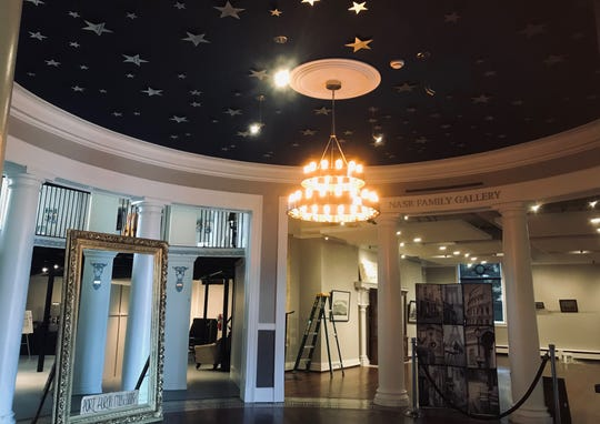 The Port Huron Museum's Carnegie Reimagined Campaign renovated the Carnegie Center in two phases — first the front galleries and rotunda, pictured, and the building's stanchion and mezzanine area second. Attendees of the Oct. 18 HOPStober Beer Tasting event will get a closer look at those improvements — beer in hand.
