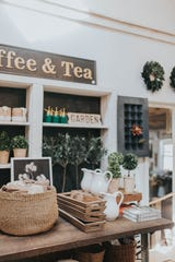 Sarah Inch's Gray Apple Market is on the Susquehanna Trail, built in an 1800s ice house and filled with home decor items, wreaths, and more. Photo taken by Kinna Shaffer.