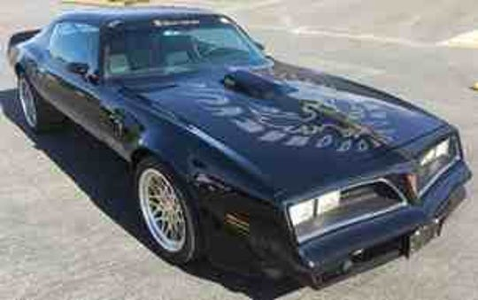 This 1978 Pontiac Trans Am was once owned by Burt Reynolds. It's now up for auction in Woodland.