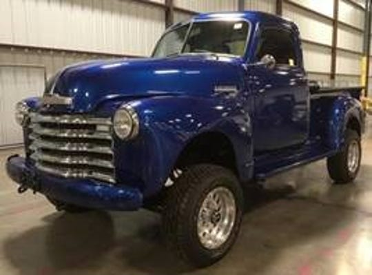 This 1950 Chevrolet pickup reportedly has only 1,380 miles.