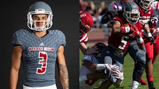 Curtis Anderson (left) and Marquis Sampson (right) were named the GNAC Defensive and Special Teams Players of the Week.