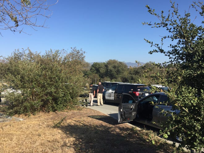 Salinas police arrested a man on a felony warrant out of Contra Costa County Tuesday after finding him at Natividad Creek Park.