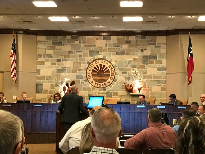 San Angelo City Council meeting Oct. 15, 2019