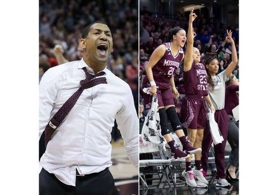 The Missouri State men's and women's basketball teams were picked to win the Missouri Valley Conference on Thursday morning.