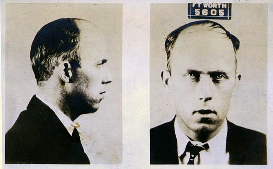 Mug shot of Harry Young, Fort Worth, TX.