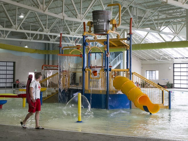 Cedar City Aquatic Center is a great and safe place to take the family out for a fun day a the pool on Thursday. April 23, 2015