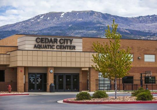 Cedar City Aquatic Center, Tuesday, May 10, 2016.