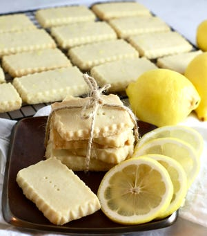 Lemon paste gives this decadent buttery cookie a decidedly bright, burst of flavor