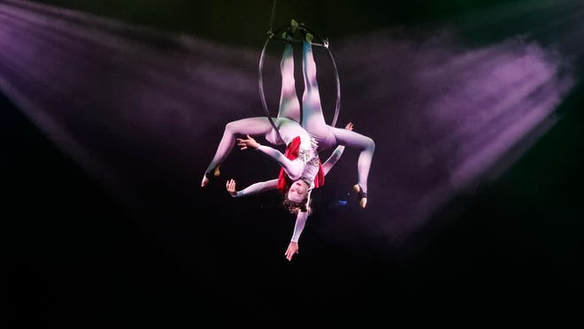 FSU Flying High Circus gets spooky for the next two weekends.