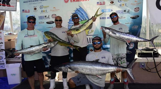 Team Reel Em In II collected the lion's share of the earnings at the ChaseN'Tailz Fishing Tournament Sept 28 out of Juno Beach.