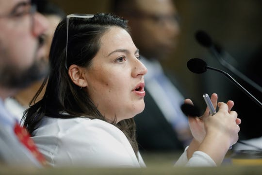 District 2 city Rep. Alexsandra Annello is shown during an Oct. 15 City Council meeting.