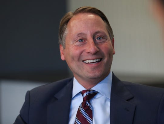 Rob Astorino at The Journal News in White Plains Oct. 14, 2019.