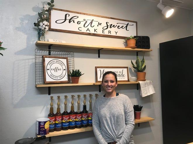 Heather Hansen owns Short & Sweet Cakery, 211 Oak St. in Wisconsin Rapids