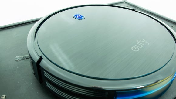 The Eufy RoboVac 11s, our pick for best value robot vacuum