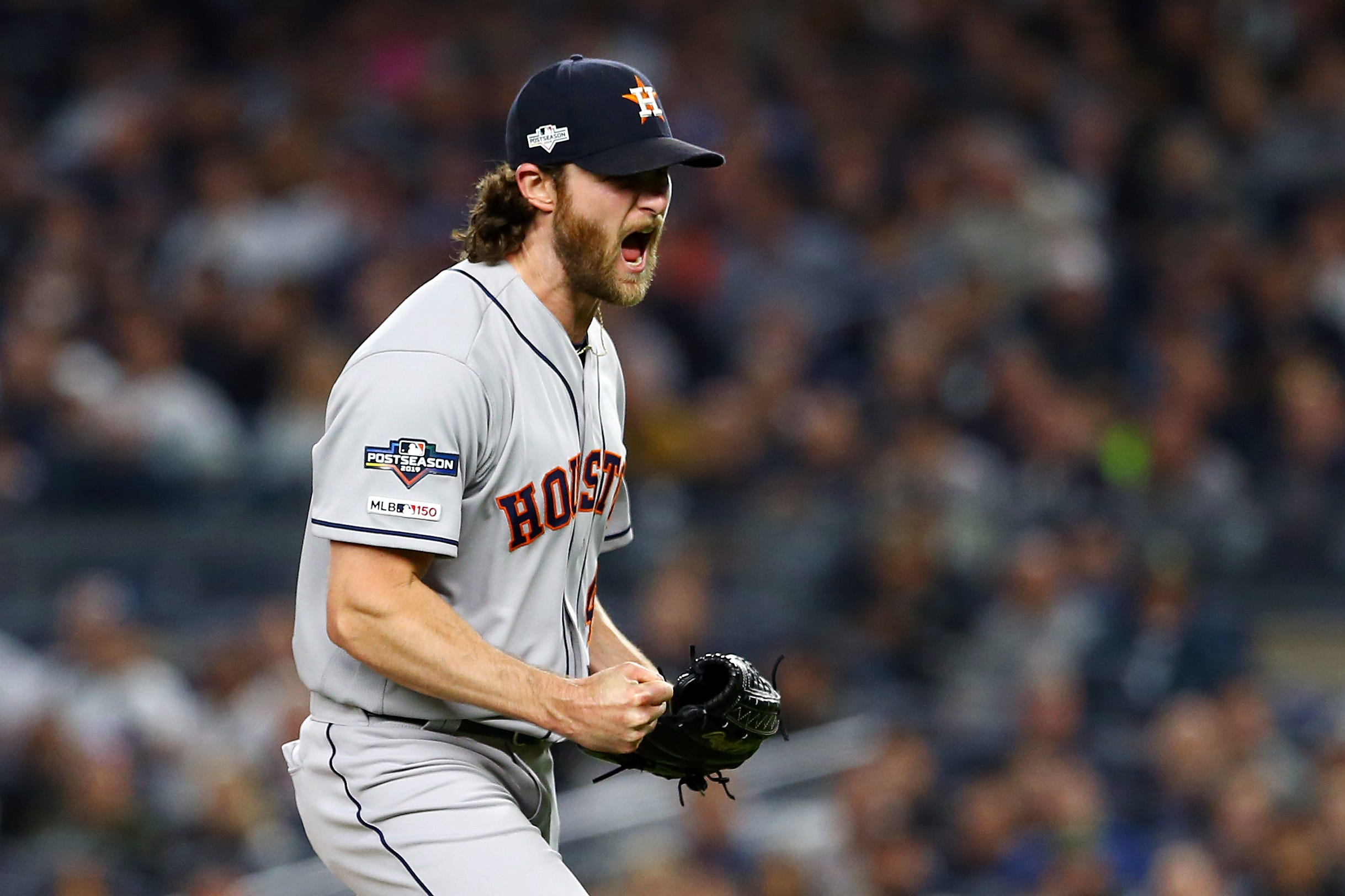 Gerrit Cole magical again, leads Astros to ALCS Game 3 win over Yankees