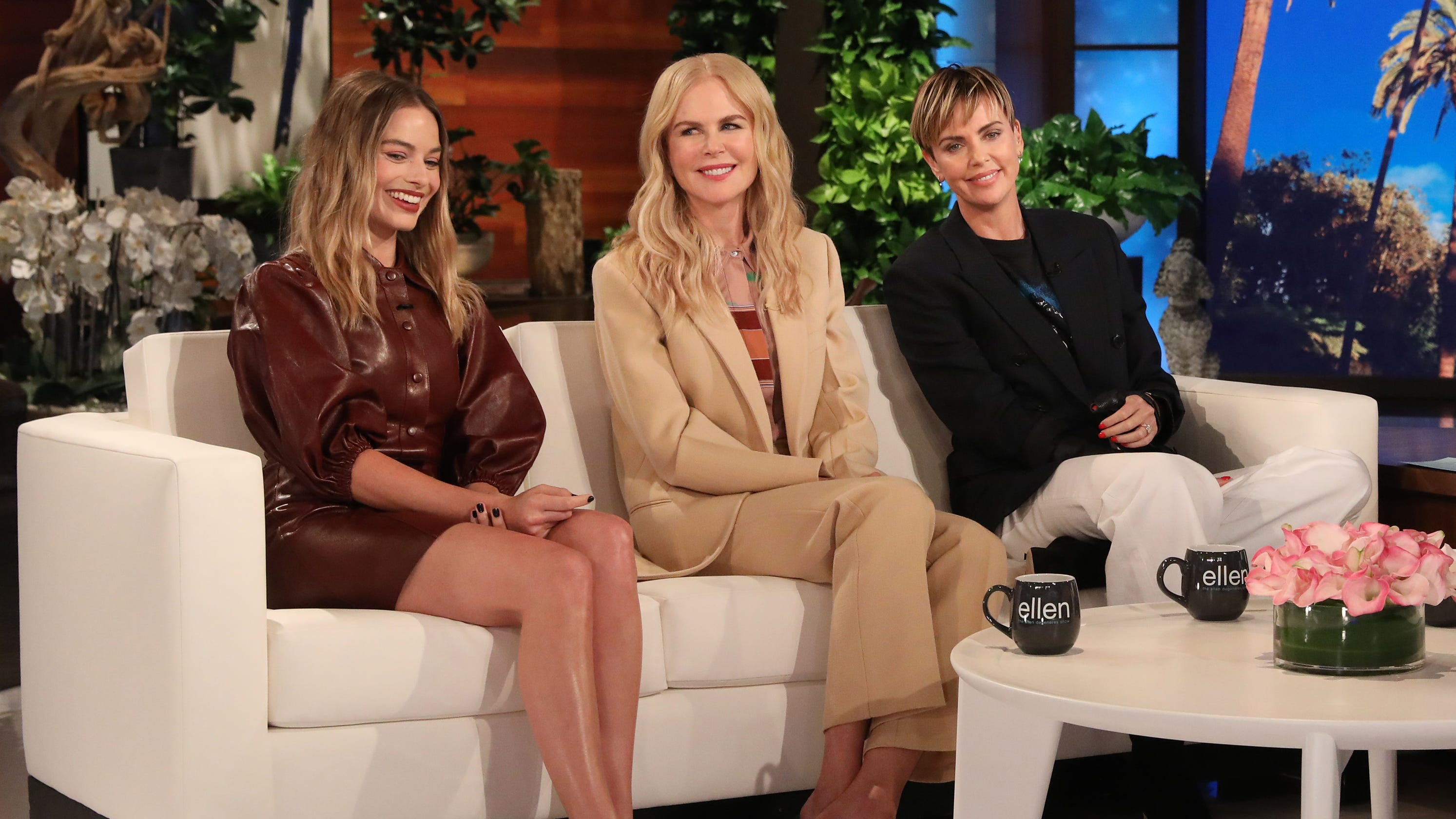 Charlize Theron gushes over 'dream' 'Bombshell' co-stars, script