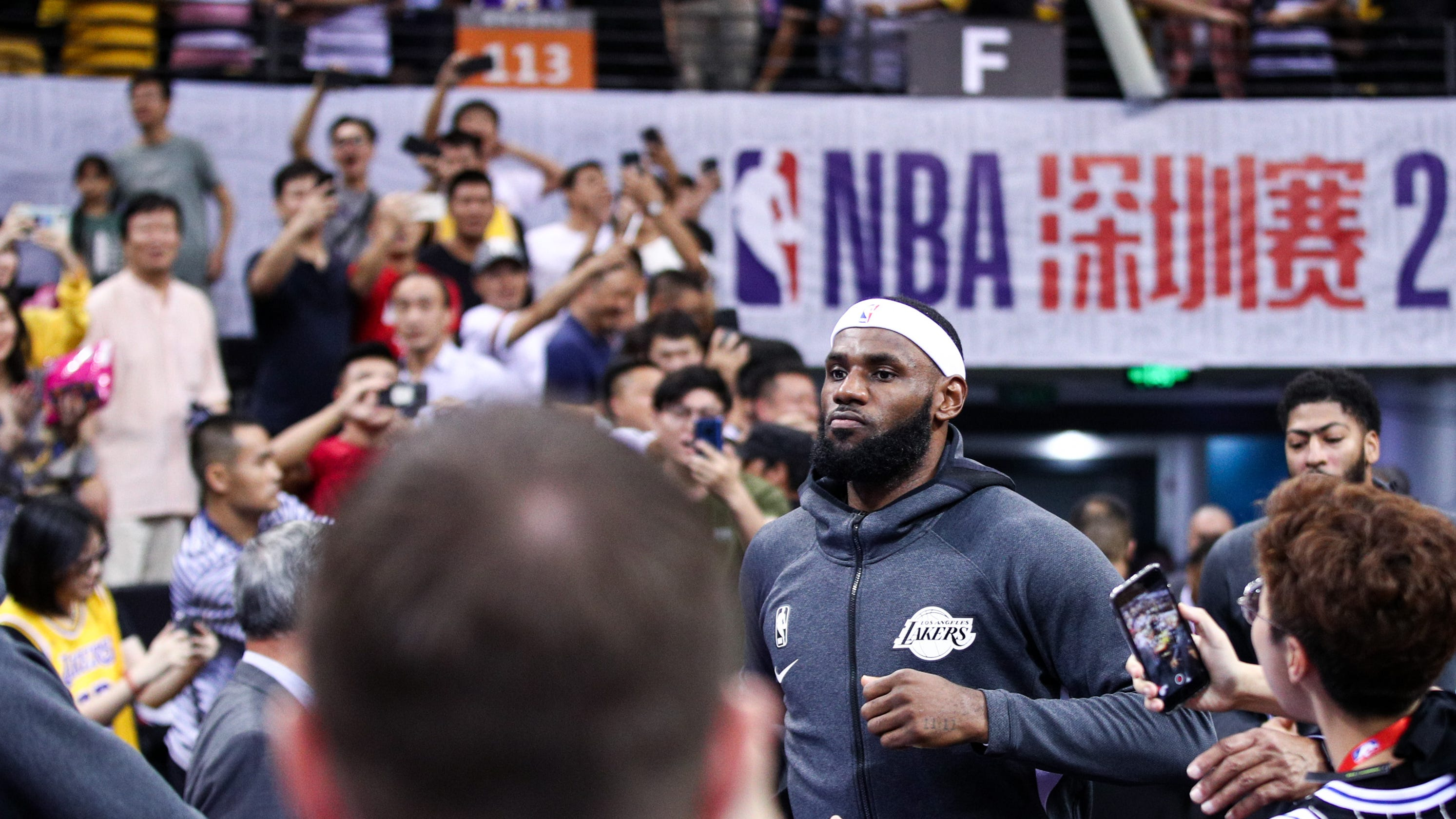 Are LeBron James and the rest of the NBA right to bow to China?