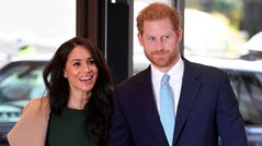For their first engagement together after their Africa trip, Prince Harry and Duchess Meghan of Sussex attended the annual WellChild Awards in London on Oct.15, 2019.