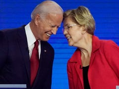 Joe Biden and Elizabeth Warren lead the pack in polling before fourth Democratic debate in Ohio
