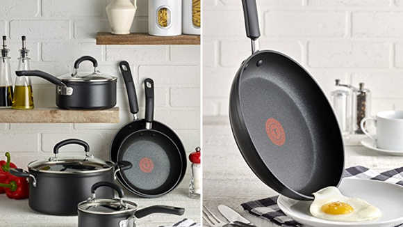 Best housewarming gifts 2019: T-Fal Nonstick Cookware Set