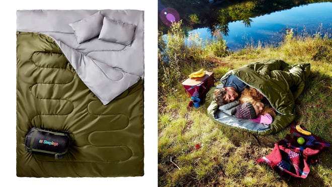A night under the stars has never been so cozy.