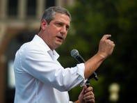 Democratic candidate Tim Ryan draws on both football, meditation in his presidential bid