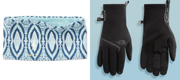 Best gifts for runners 2019: Smartwool Headband & The North Face Gore CloseFit Fleece Gloves