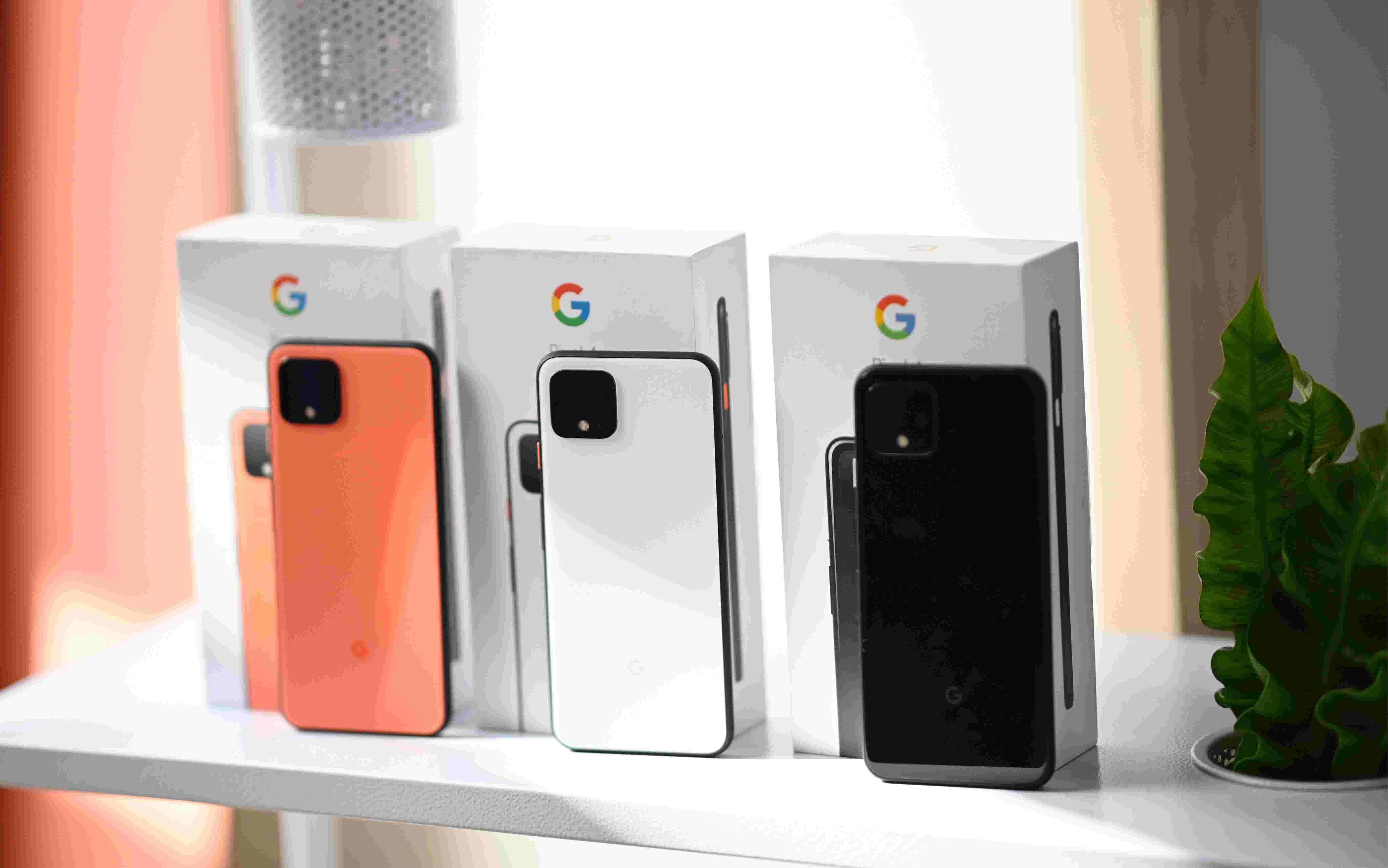 Google unveils new phone, connected gadgets