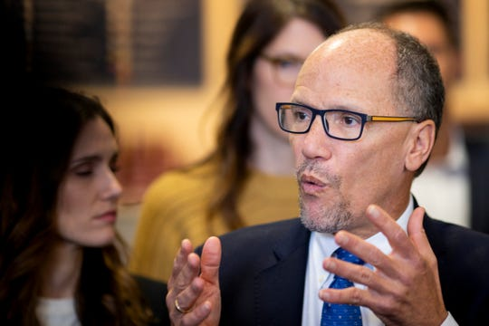 DNC Chair Tom Perez wrote a letter to Alabama Demcoratic Party chair Nancy Worley Saturday warning the DNC would not recognize actions taken at the Oct. 12 meeting of the party.