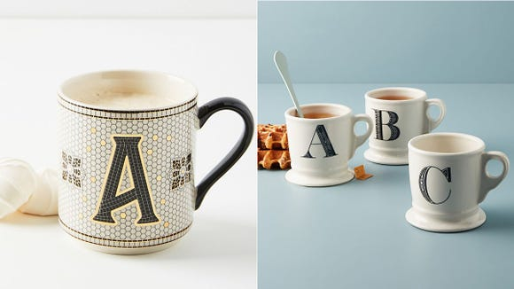 Best gifts to buy before Black Friday 2019: Monogram mugs
