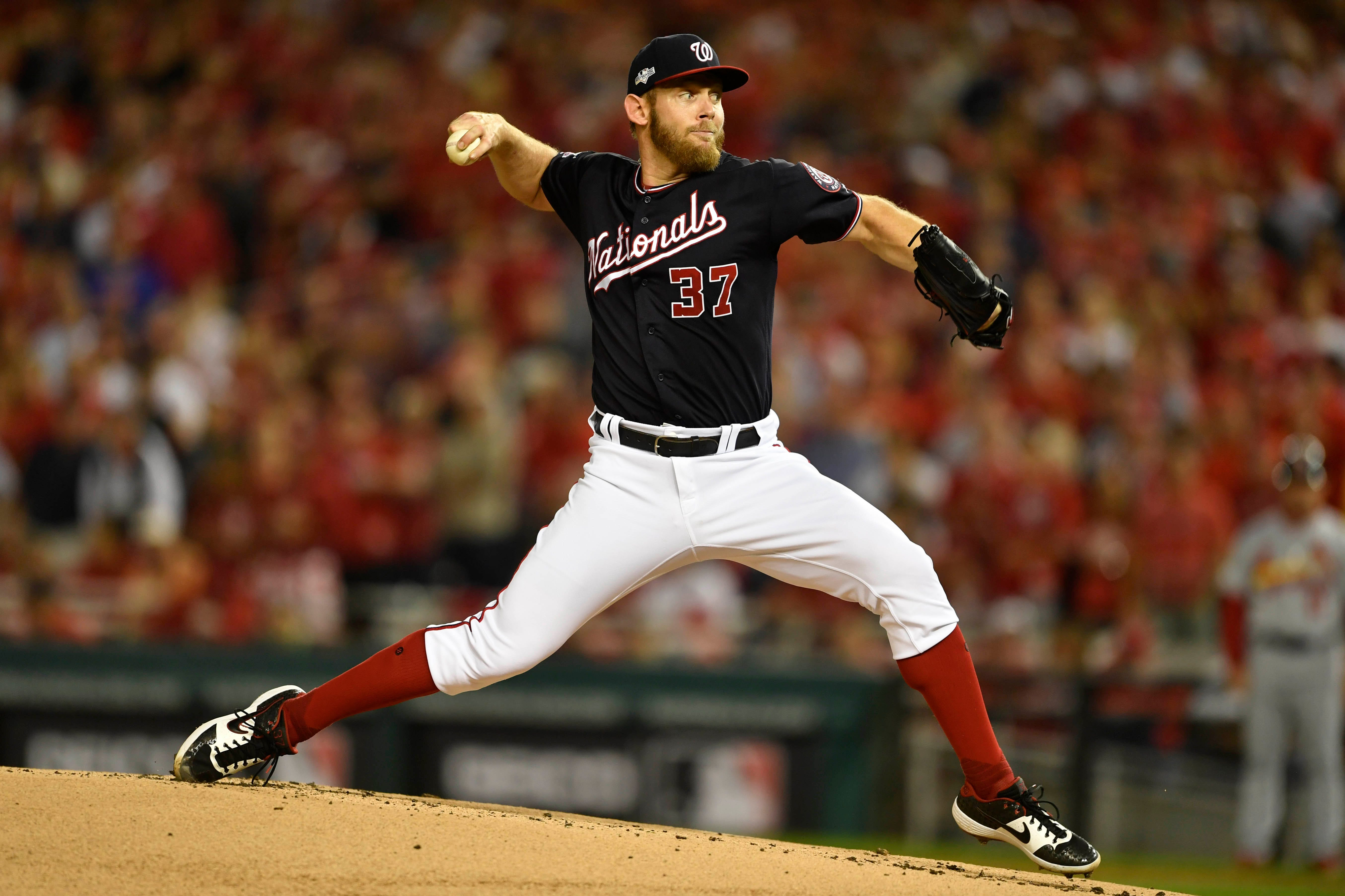 Stephen Strasburg puts Nationals on brink of World Series with Game 3 win vs. Cardinals