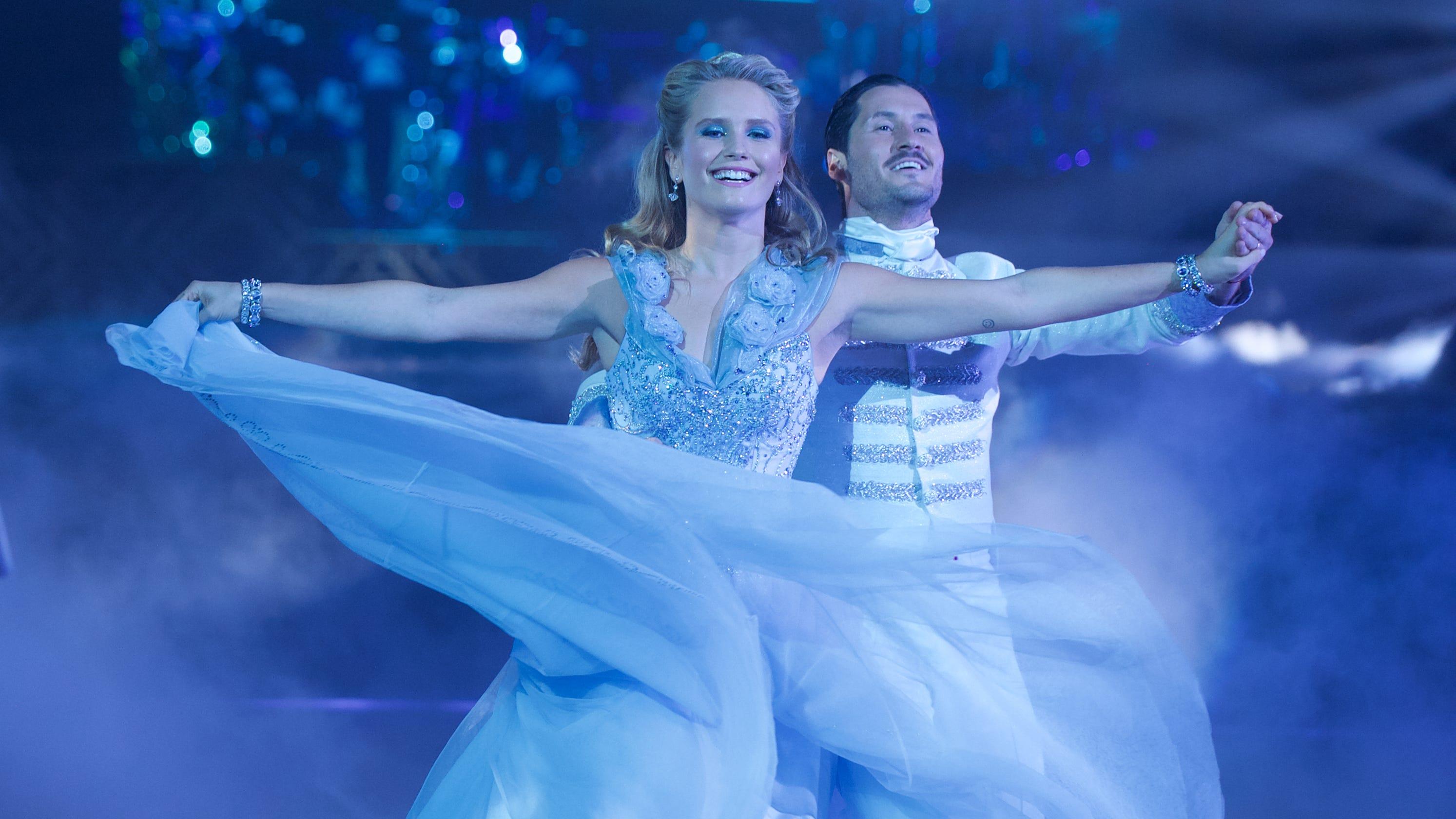 'Dancing With the Stars' recap: Disney Night brings princess tears, Hannah Brown as Jasmine