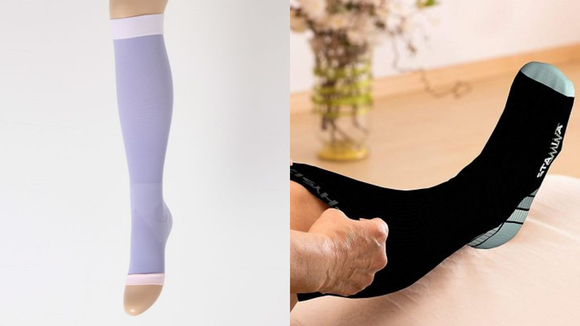 The best gifts for travelers 2019: Dr. Scholl and Physix Gear Compression Socks