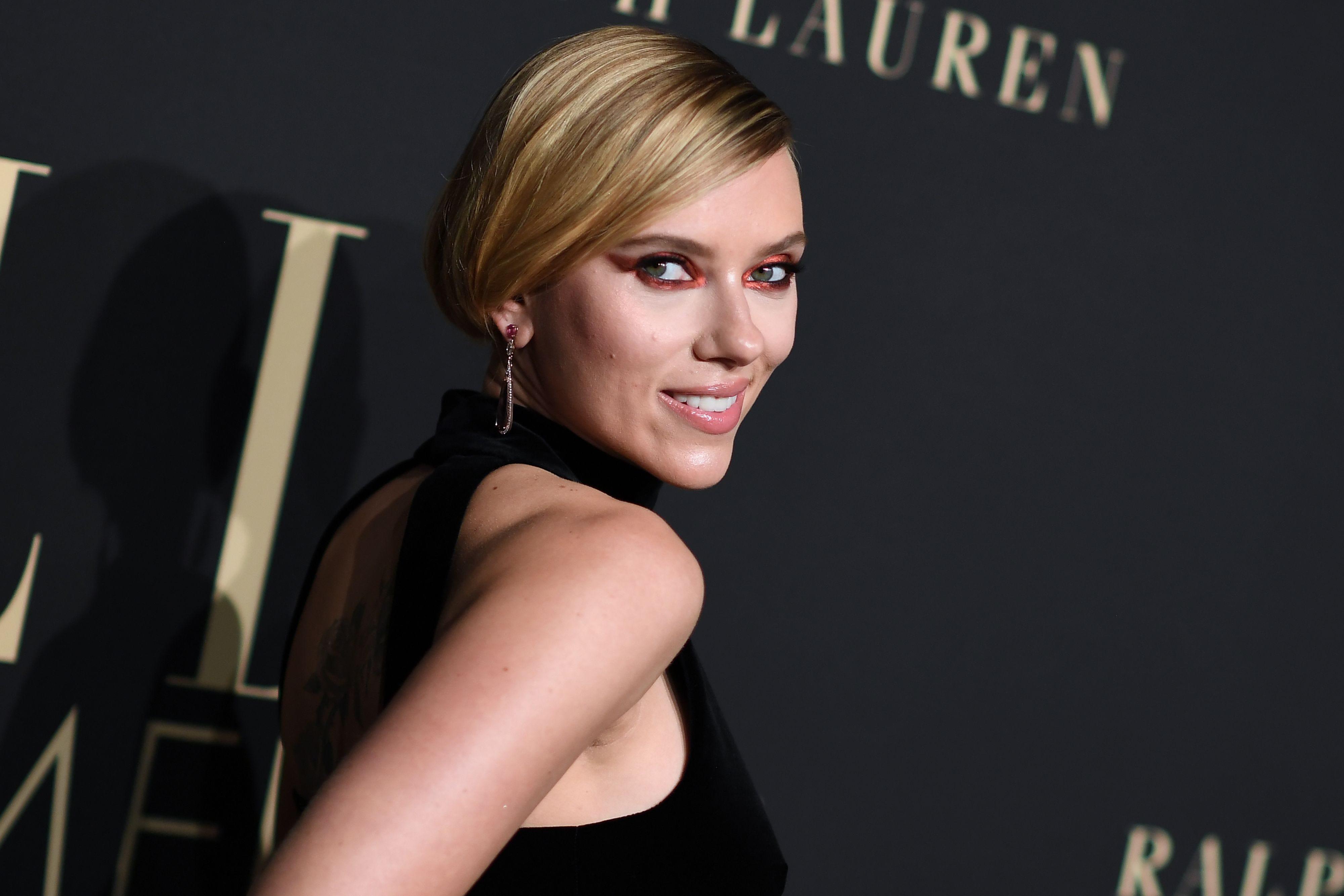 Scarlett Johansson says keeping her 'Black Widow' movie a secret was like 'having an affair'