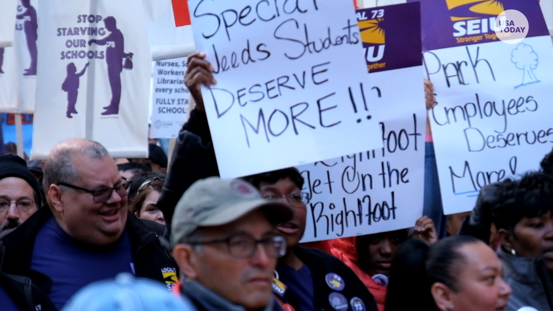 The next major teacher strike hits Chicago over failure to agree on a new contract