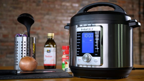 Of all the Instant Pot models, we like the Ultra the best.